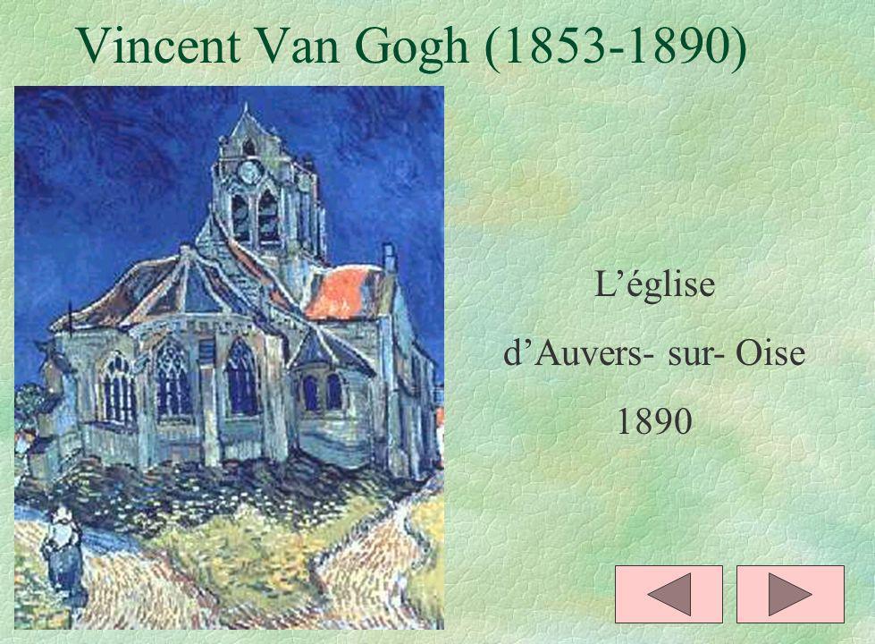 Vincent Van Gogh (1853-1890) L'église d'Auvers- sur- Oise 1890