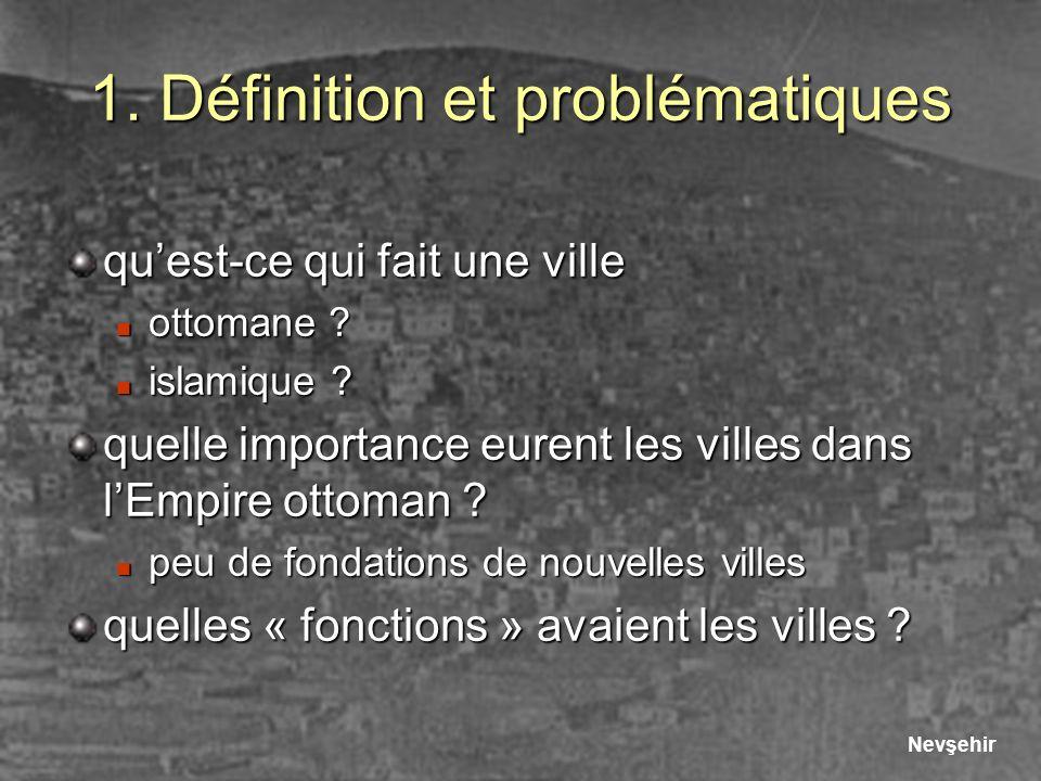 1. Définition et problématiques