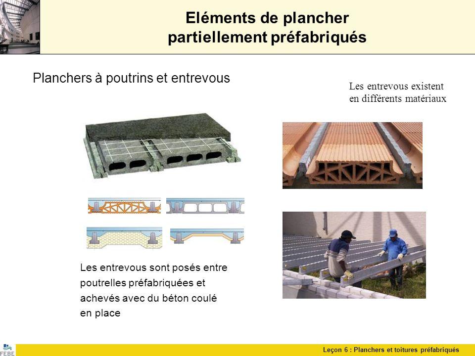 Conception de constructions en beton prefabriques ppt for Beton coule en place