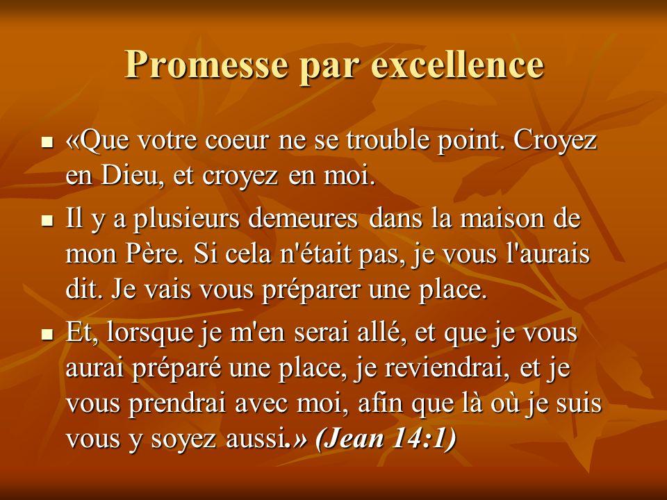 Promesse par excellence
