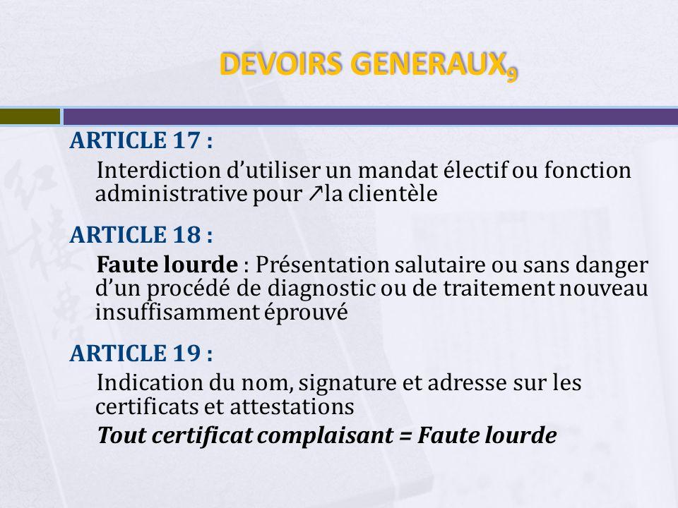 DEVOIRS GENERAUX9