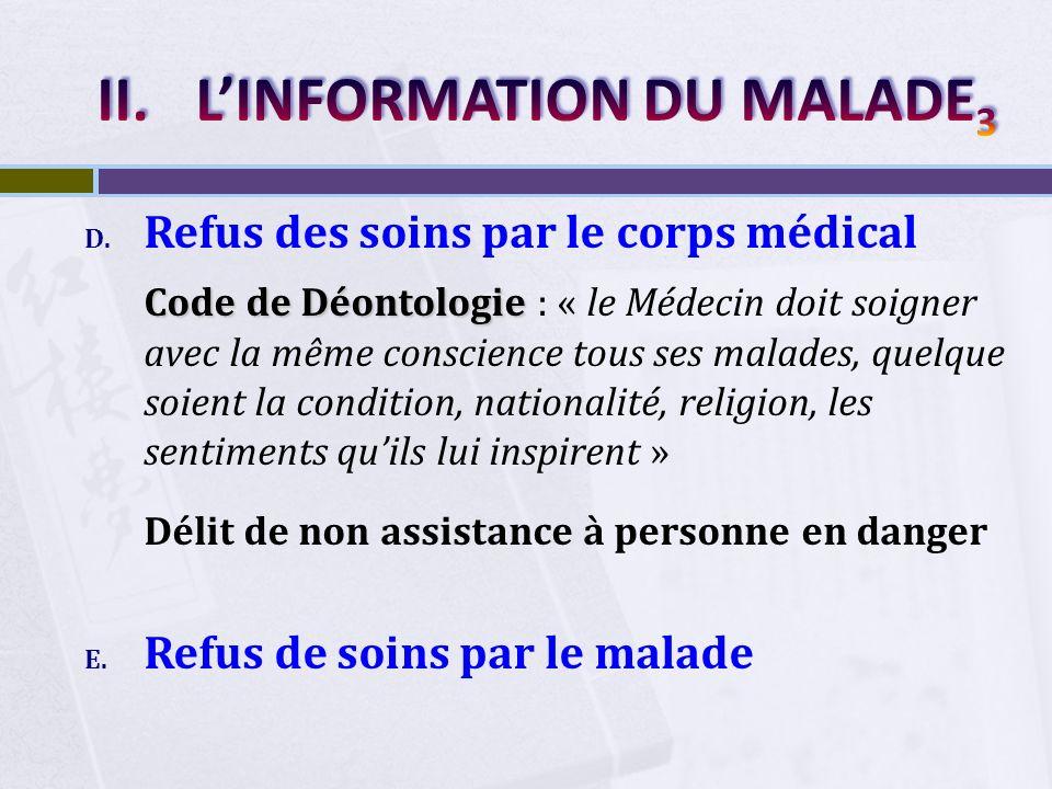 L'INFORMATION DU MALADE3
