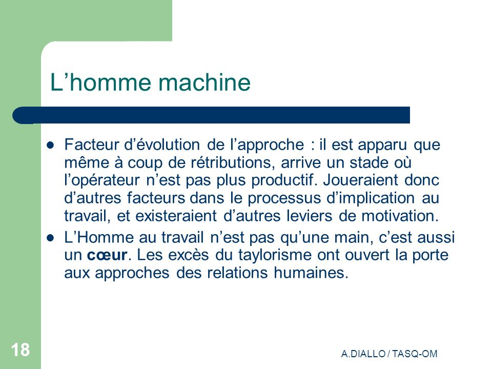 L'homme machine