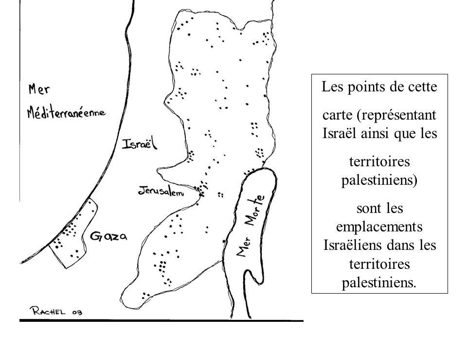 carte (représentant Israël ainsi que les