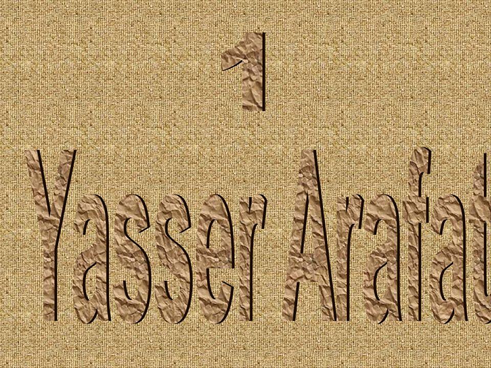 1 Yasser Arafat