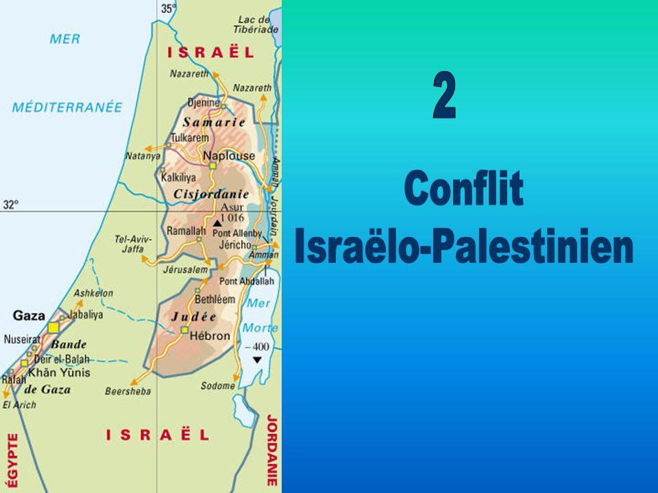 2 Conflit Israëlo-Palestinien
