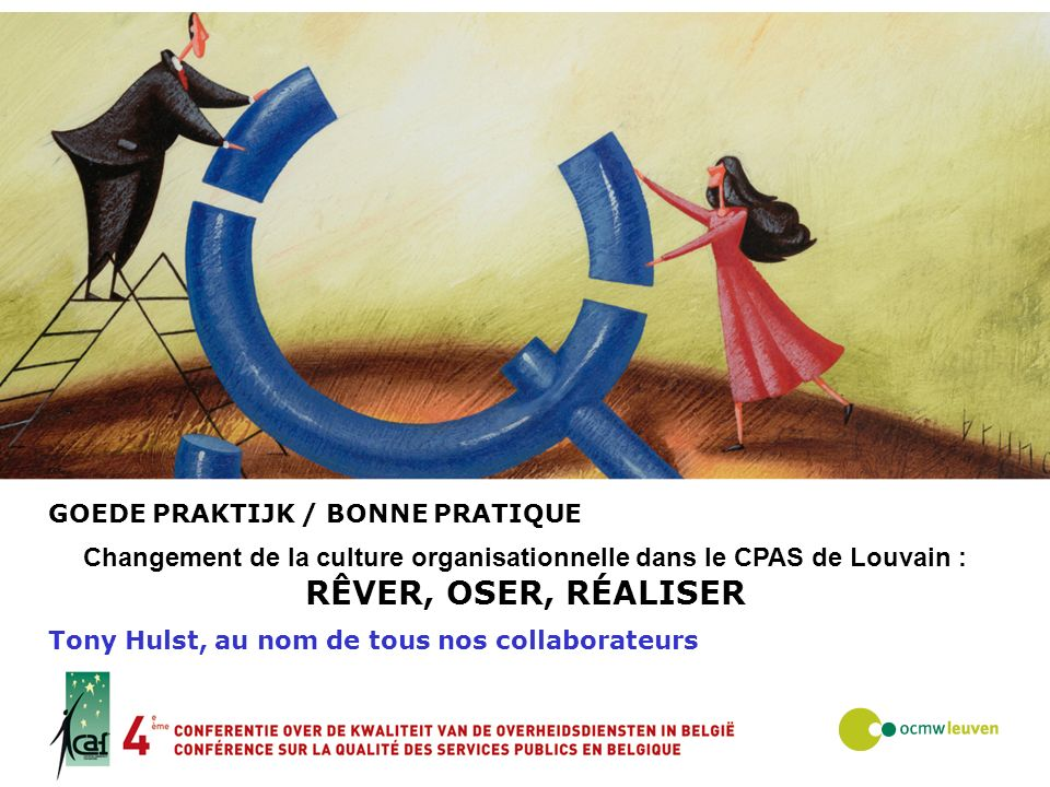 Changement de la culture organisationnelle dans le CPAS de Louvain :