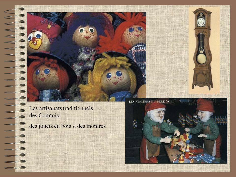 Les artisanats traditionnels des Comtois: