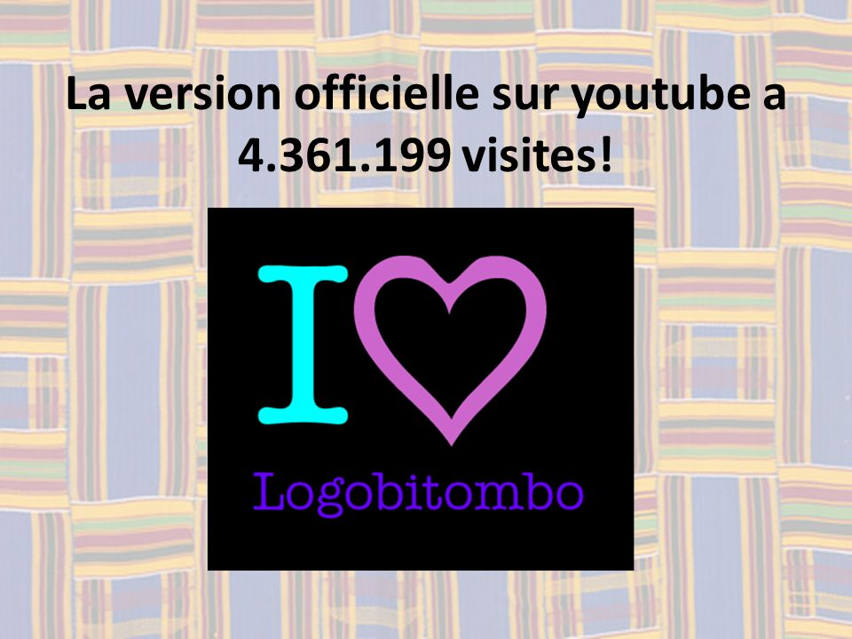 La version officielle sur youtube a 4.361.199 visites!