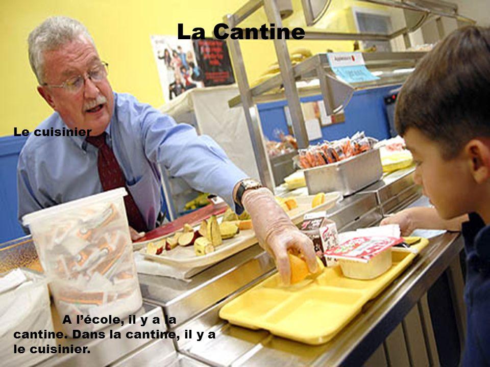 La Cantine Le cuisinier