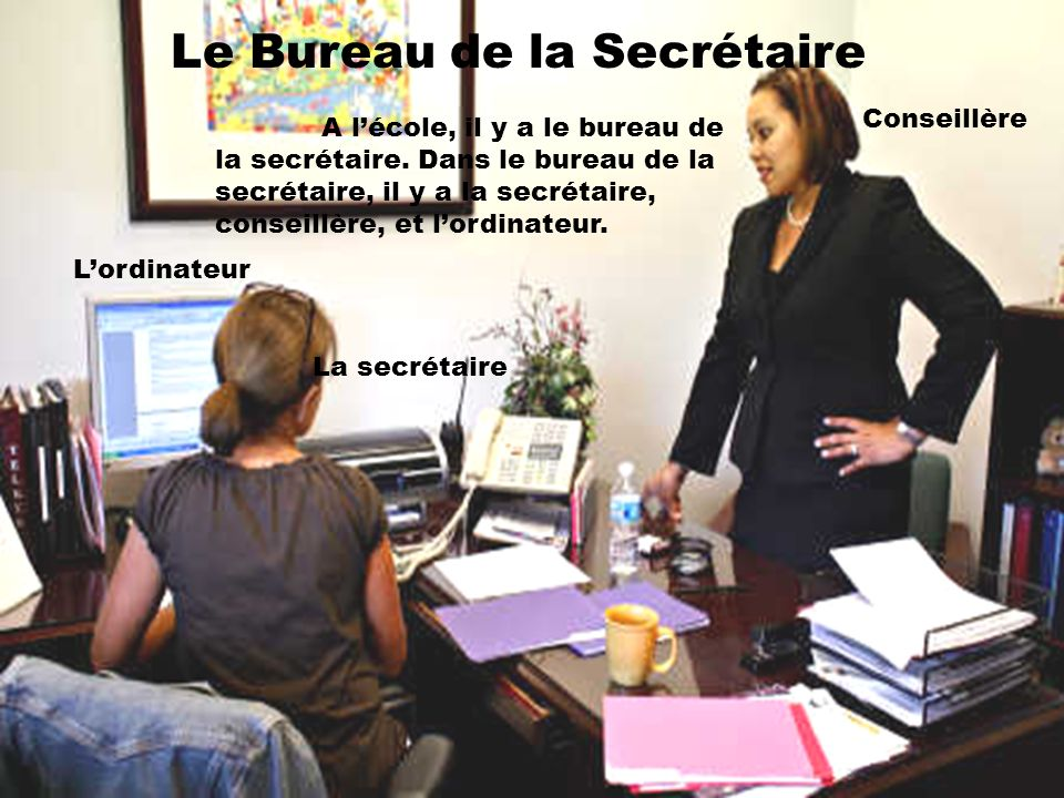 Le Bureau de la Secrétaire