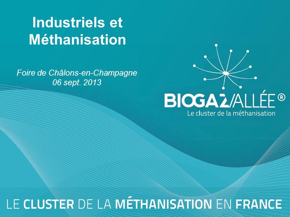 Industriels et Méthanisation