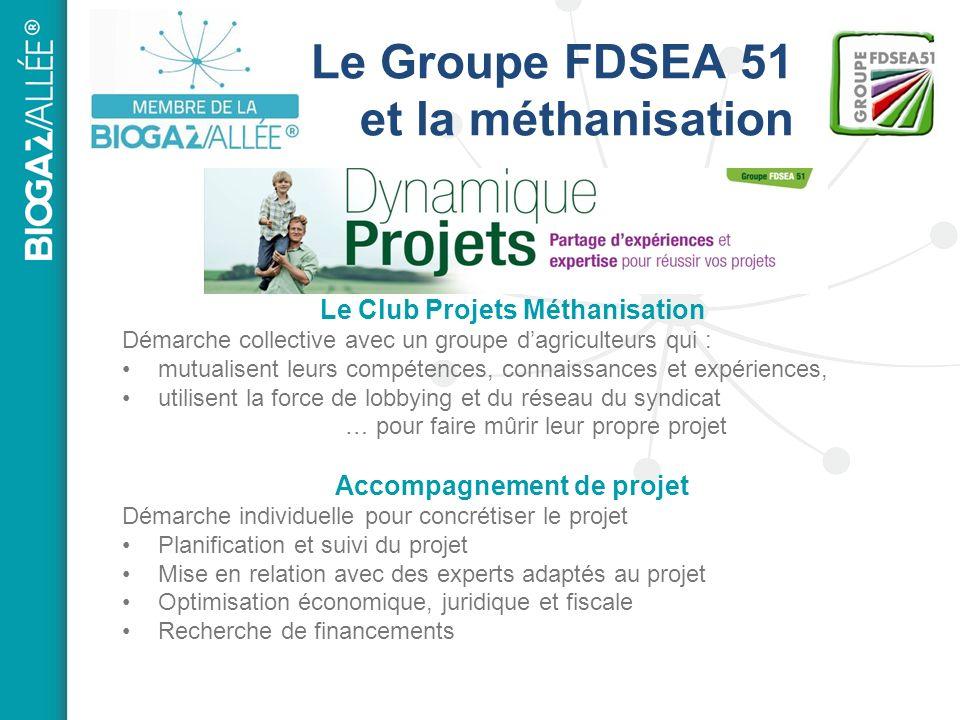 Le Groupe FDSEA 51 et la méthanisation