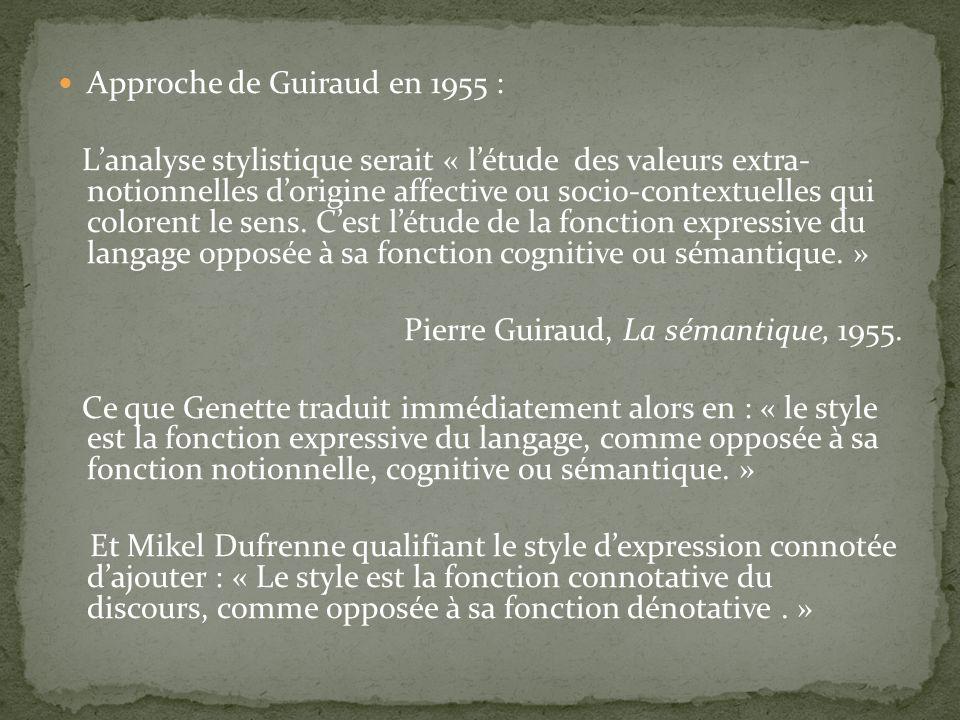 Approche de Guiraud en 1955 :