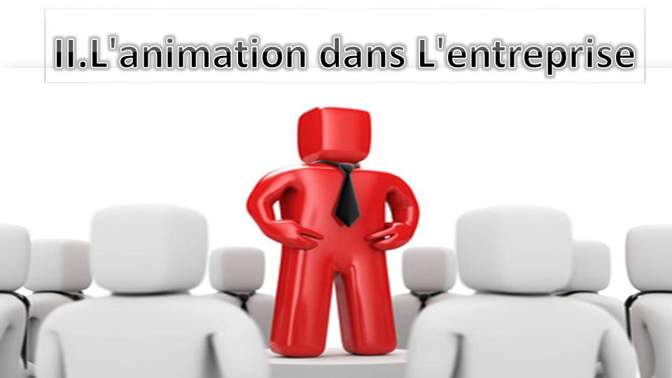 II.L animation dans L entreprise