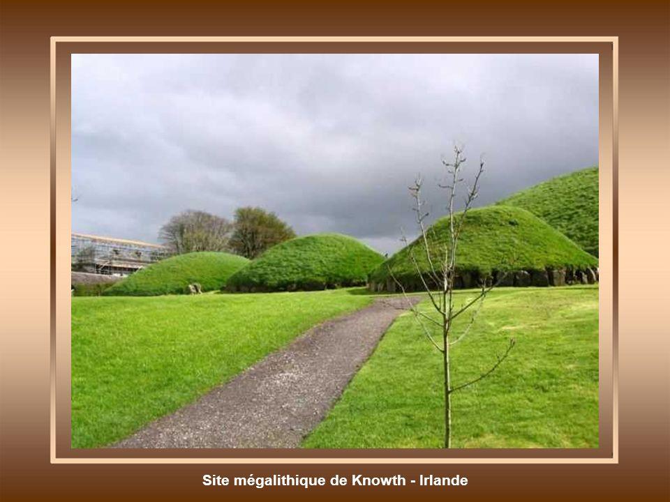 Site mégalithique de Knowth - Irlande