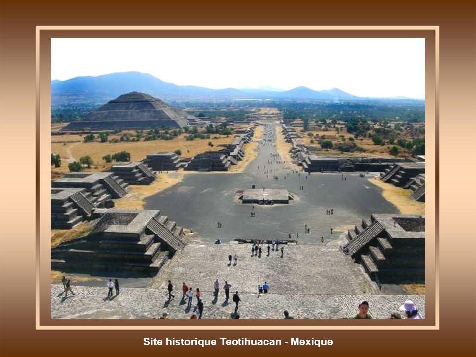 Site historique Teotihuacan - Mexique