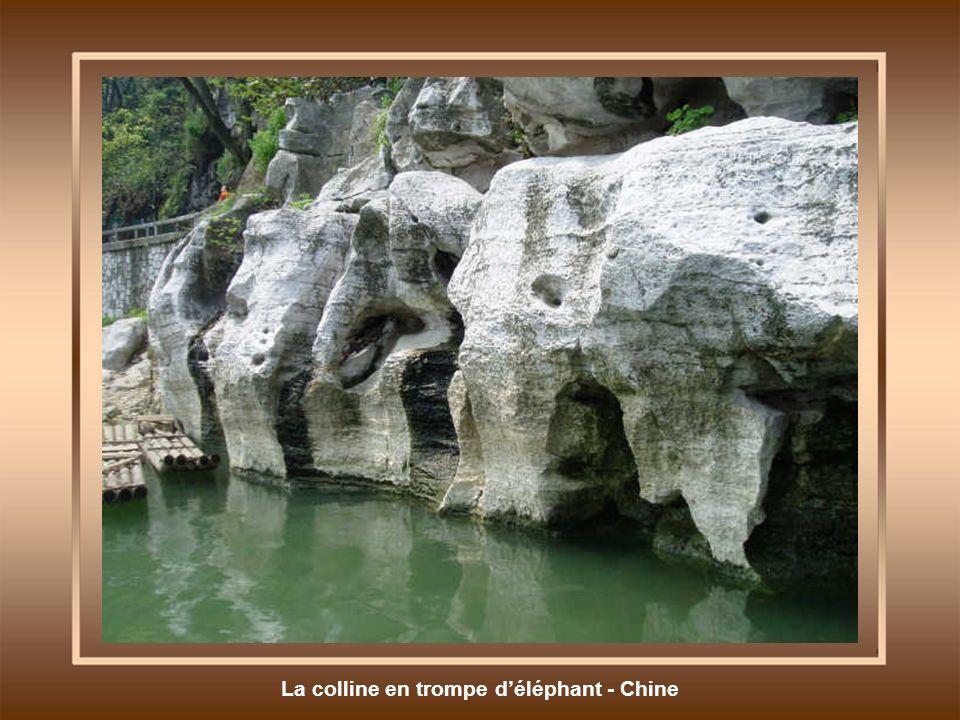 La colline en trompe d'éléphant - Chine