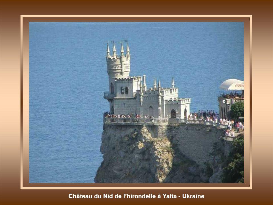 Château du Nid de l'hirondelle à Yalta - Ukraine