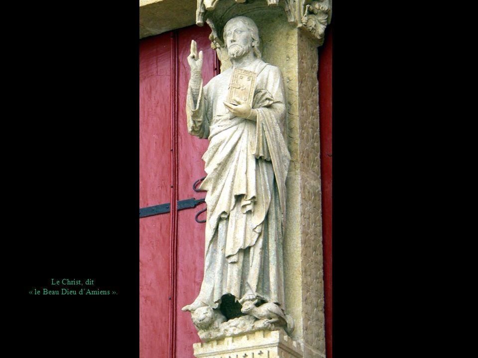 « le Beau Dieu d'Amiens ».