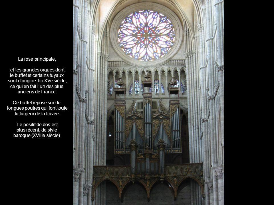 et les grandes orgues dont le buffet et certains tuyaux