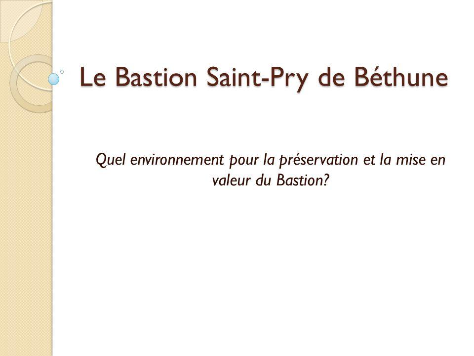 Le Bastion Saint-Pry de Béthune