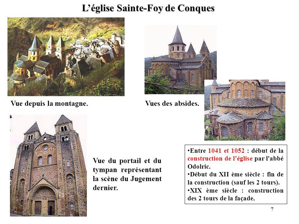 L'église Sainte-Foy de Conques