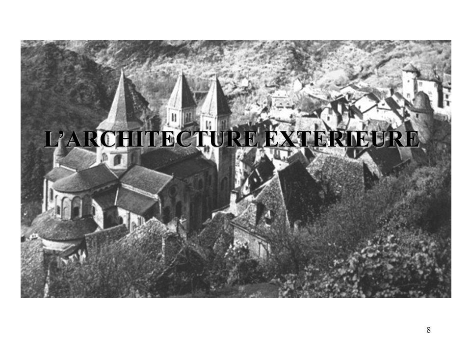 L'ARCHITECTURE EXTERIEURE