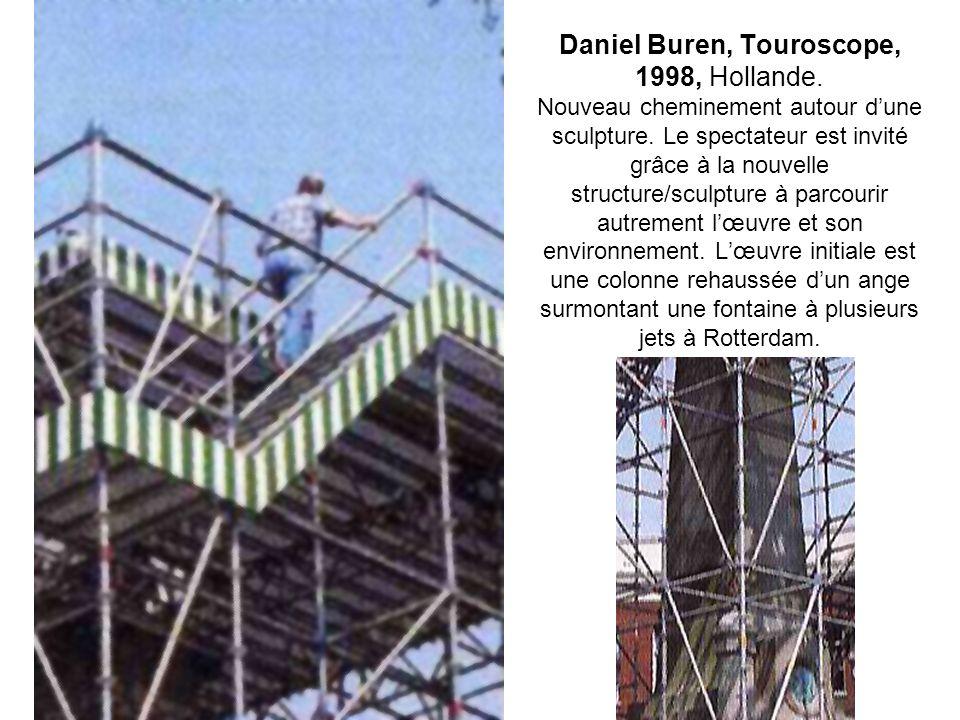Daniel Buren, Touroscope, 1998, Hollande