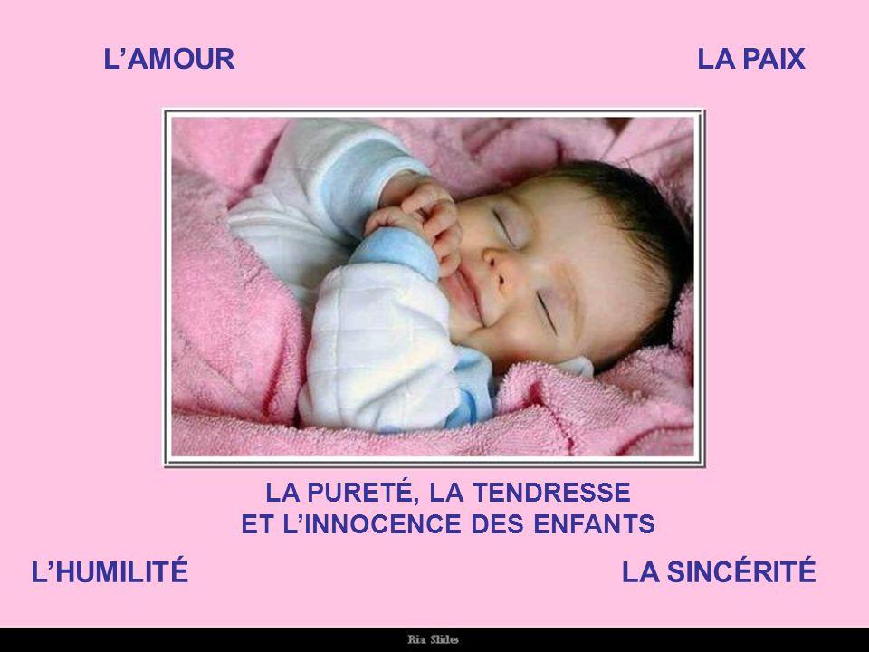 ET L'INNOCENCE DES ENFANTS