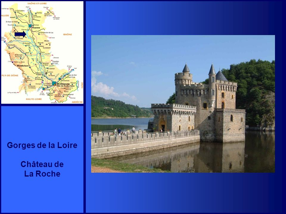 Gorges de la Loire Château de La Roche