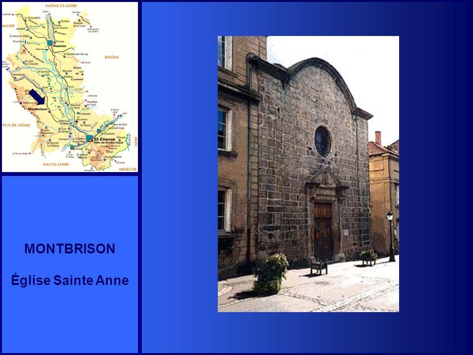 MONTBRISON Église Sainte Anne