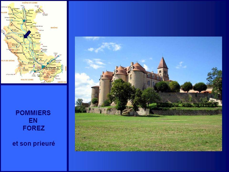 POMMIERS EN FOREZ et son prieuré