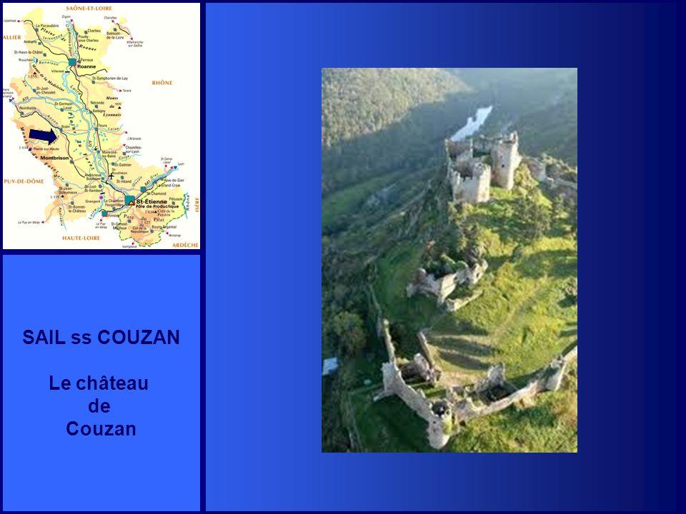 SAIL ss COUZAN Le château de Couzan