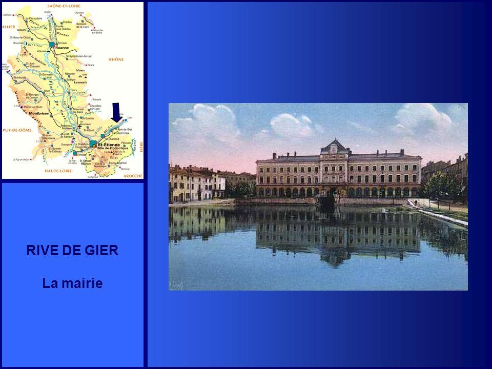 RIVE DE GIER La mairie