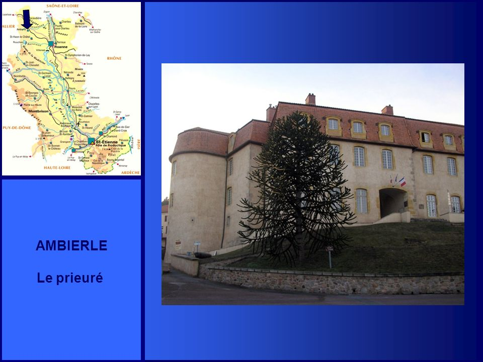 AMBIERLE Le prieuré
