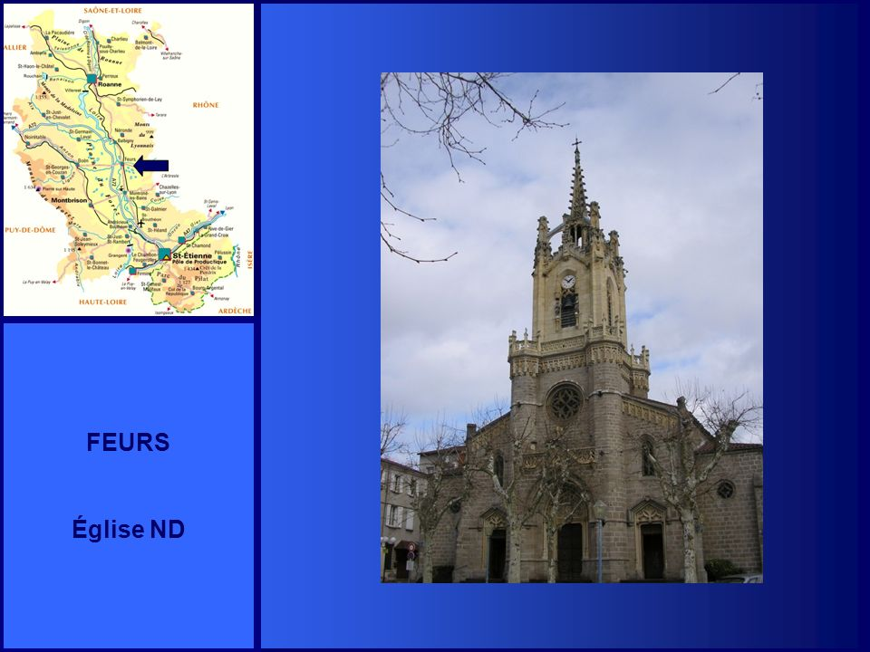 FEURS Église ND