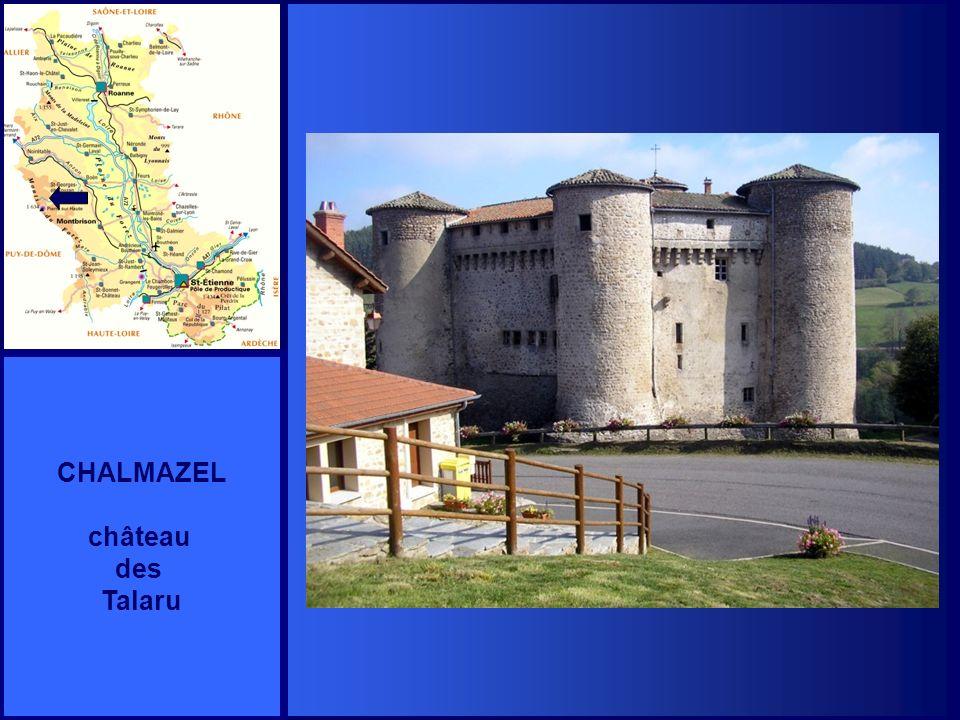 CHALMAZEL château des Talaru