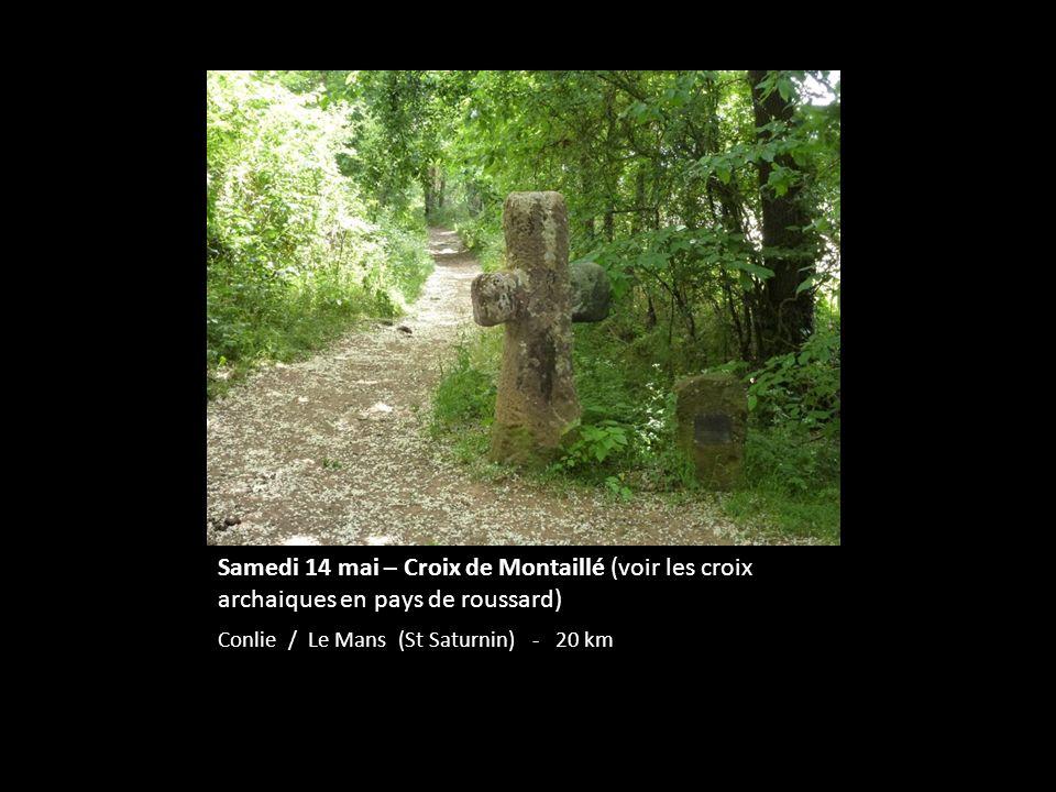 Samedi 14 mai – Croix de Montaillé (voir les croix archaiques en pays de roussard)