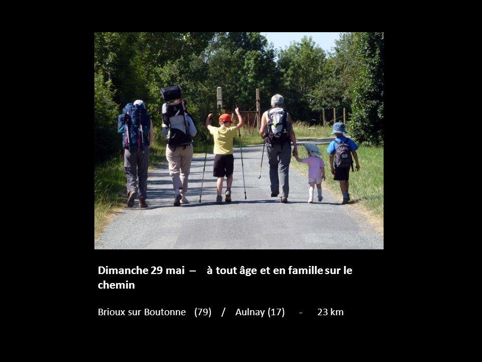Dimanche 29 mai – à tout âge et en famille sur le chemin