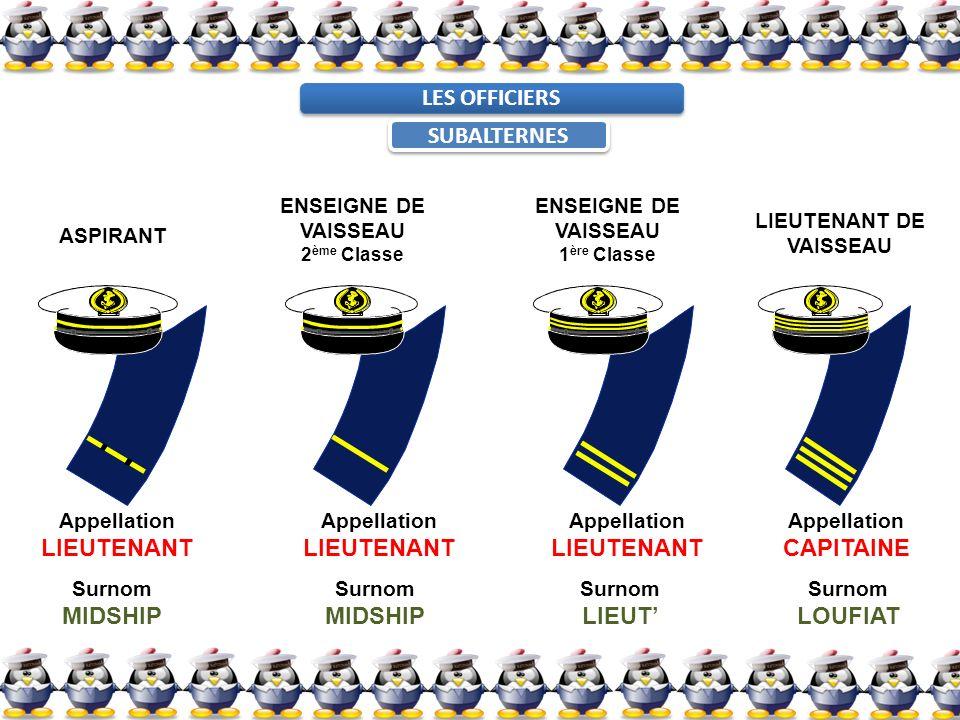 LIEUTENANT DE VAISSEAU