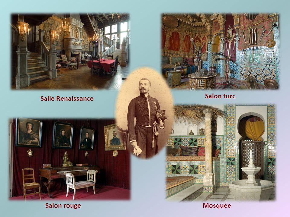 Salon turc Salle Renaissance Salon rouge Mosquée