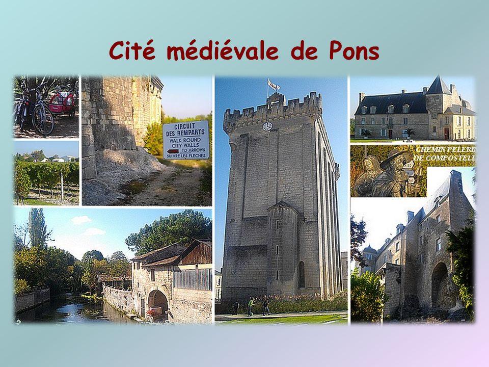 Cité médiévale de Pons