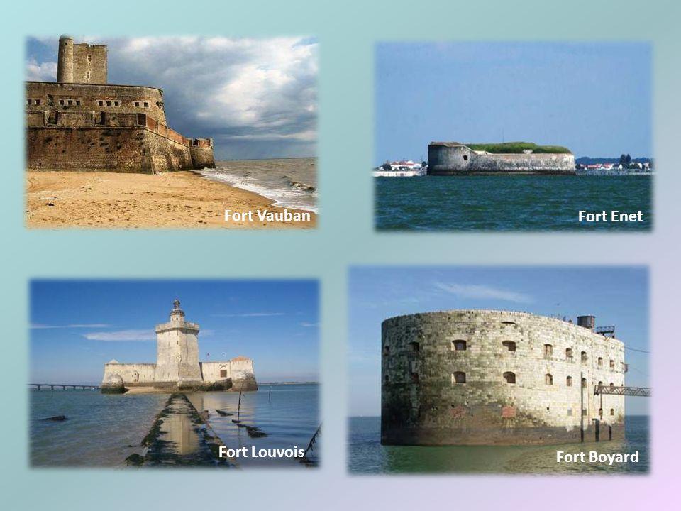 Fort Vauban Fort Enet Fort Louvois Fort Boyard