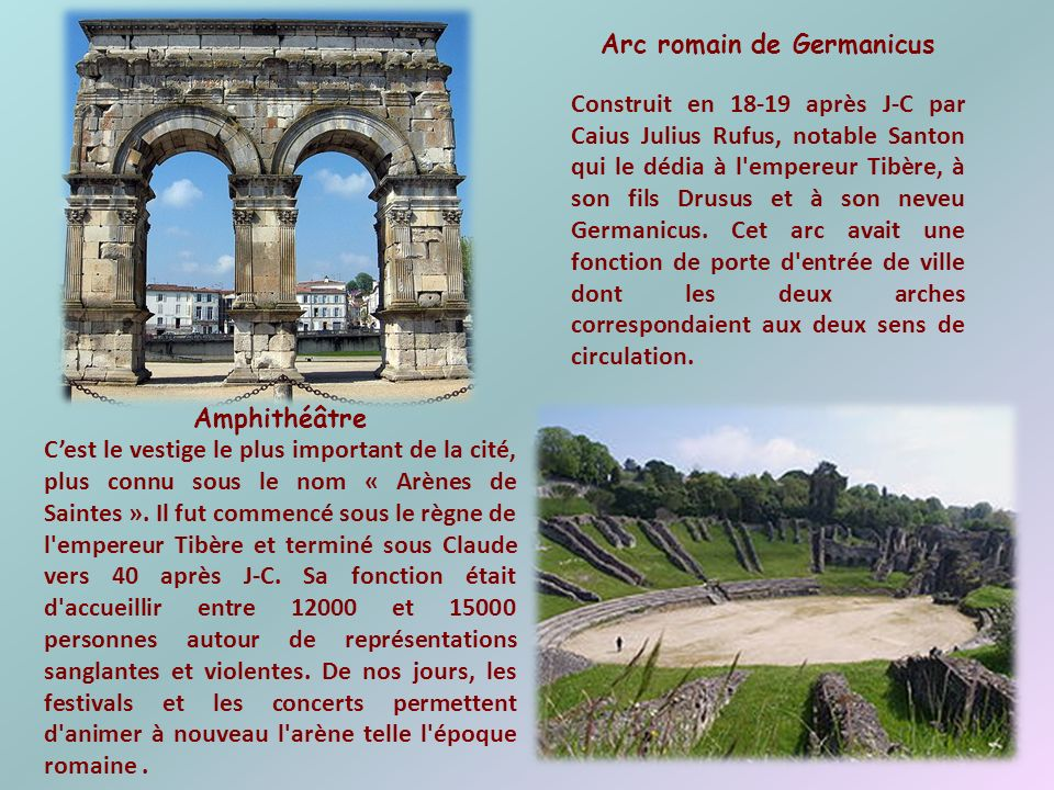 Arc romain de Germanicus
