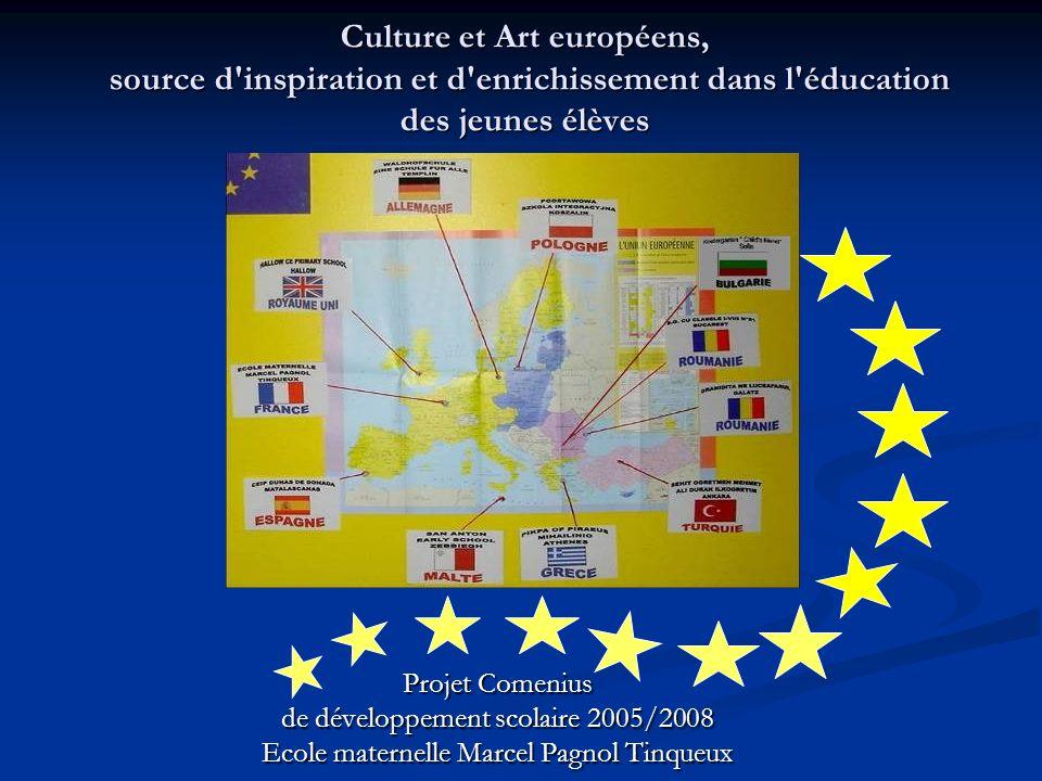 Culture et Art européens, source d inspiration et d enrichissement dans l éducation des jeunes élèves
