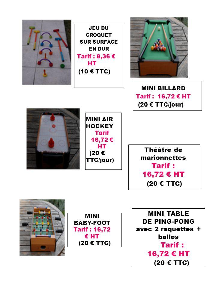 Tarif : 16,72 € HT (20 € TTC) Tarif : 16,72 € HT (20 € TTC)