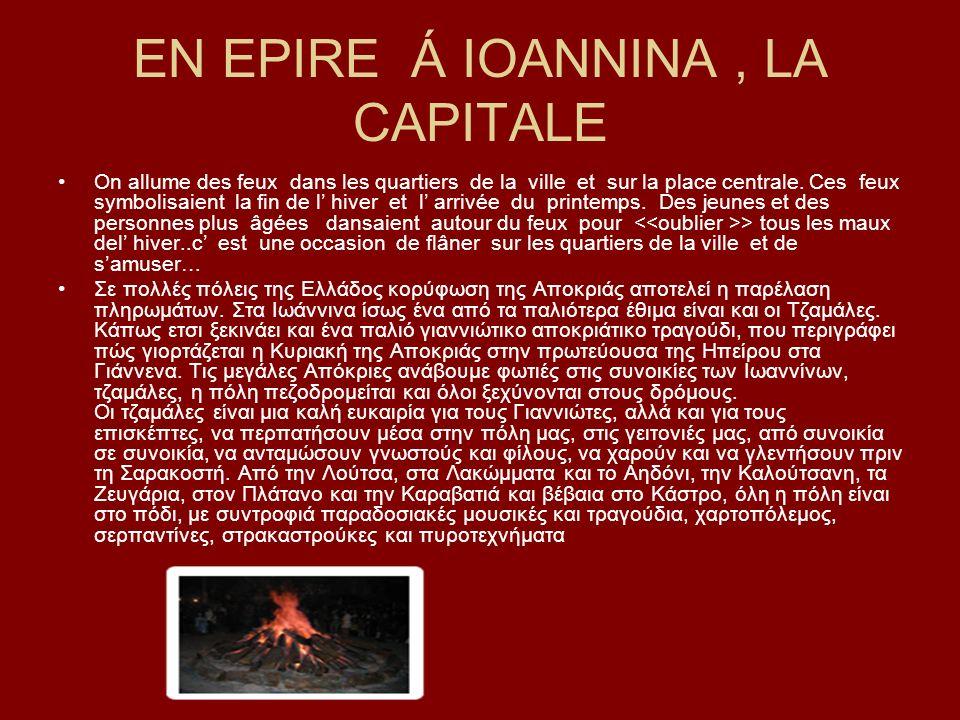 EN EPIRE Á IOANNINA , LA CAPITALE