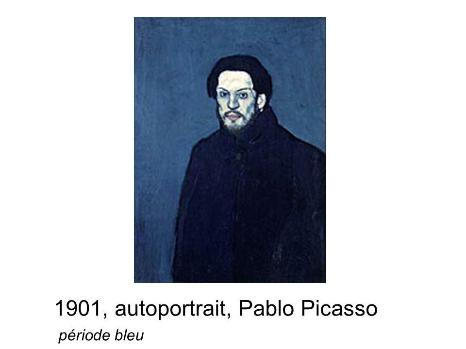 1901, autoportrait, Pablo Picasso