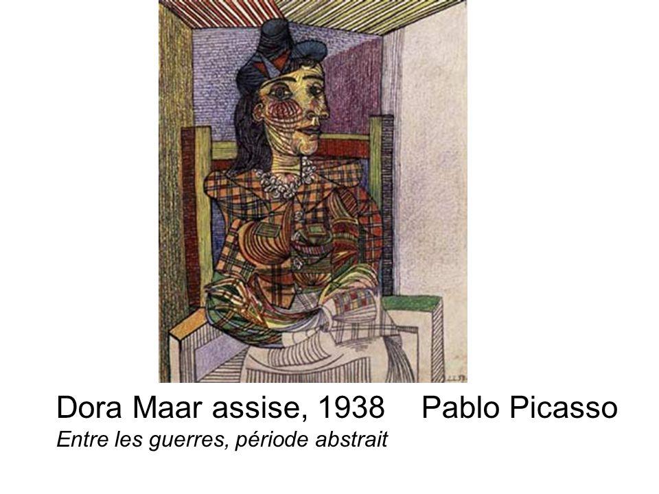 Dora Maar assise, 1938 Pablo Picasso